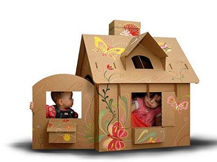 Chiêm ngưỡng những ngôi nhà từ bìa carton
