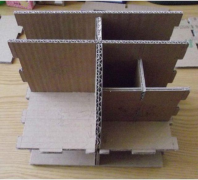 làm tủ đồ bìa carton