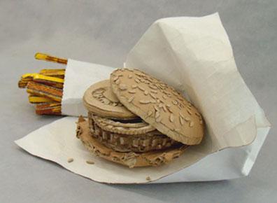 Ngỡ ngàng với ý tưởng đồ ăn nhanh từ carton
