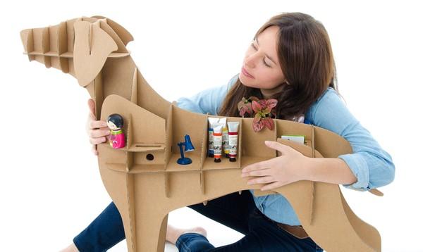 ý tưởng sáng tạo từ thùng carton